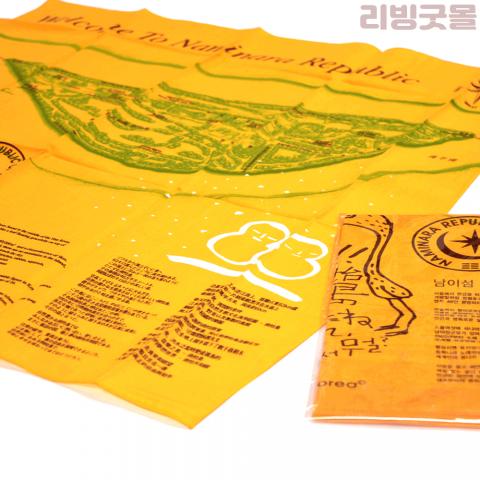 컬러 5도 본염인쇄 60수 면손수건 (1,000장 이상시)